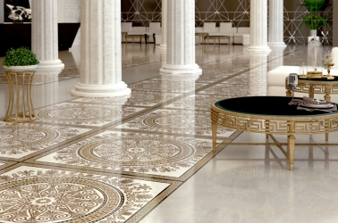 Golden Tile Meander