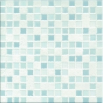 Римская мозаика RM1 белый